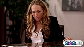 Carter Cruise licked by...