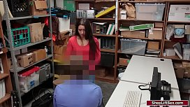 Latina shoplifter is fucked for stealing