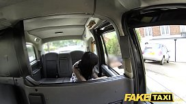 Fake Taxi massage ends...
