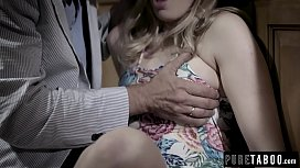 Teen Giselle Palmer Caught Fucking Her Dad'_s Best Friend
