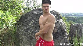 Handjob Casting and Muscle...