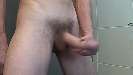 Morning hard cock and...