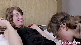 Spex tgirl cocksucking before...