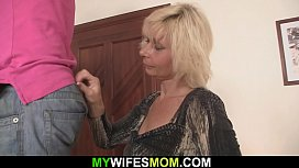 Blonde mother inlaw lures...