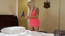 Busty housewife takes revenge on her cheating husband