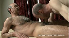 Hairy Mature Gets A...