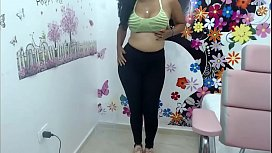 Latin lady see her body