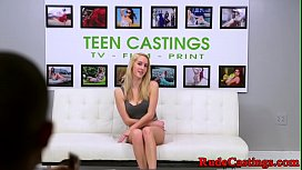 Casting teen pounded after...