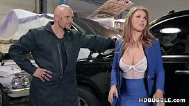 Rich bitch is unable to pay! - Lena Paul and JMac