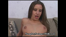 Wifey Bucks Like Bronco On New Cock