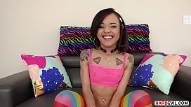 Tiny Holly Hendrix loves...