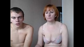 Amateur. Boy and milf...