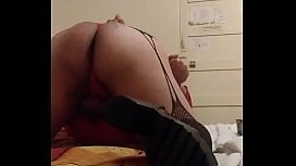 Sissy ass spanked