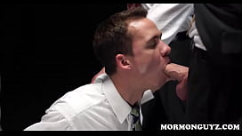 Mormon Twink Sucking Off...