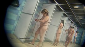 Real public showers with...