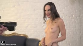 Lingerie model assfucked after...