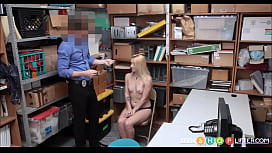 Blonde Teen Caught Stealing...