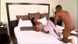 Ebony slut loves anal sex