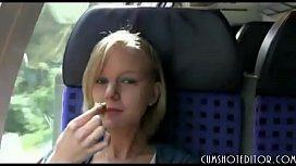 Cute Blonde German Amateur...