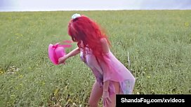 Storm Chasing Shanda Fay Blows Hubby In Major Storm!