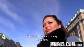 Mofos - Public Pick Ups - Show me your big tits starring  Sirale