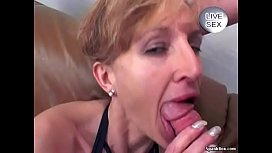 Granny Anal and Facial...