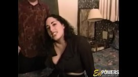 Amateur debutante tongue fucked and hammered with pleasure