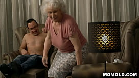 Very old granny Norma drilled by young stud