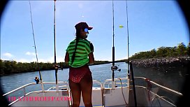 HD Tiny Asian Thai Heather Deep Goes Fishing And Plays Hide The Hotdog In The Pussy And Deep