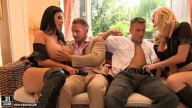 Epic foursome with Tarra...
