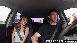 Day with a Pornstar  (Janice Griffith) Skinny brunette loves rough sex - BRAZZERS