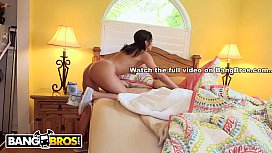 BANGBROS - Hot Latina Maid Selena Santana Polishes Knobs preview