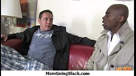Huge Black Meat Going into Horny Mom 12
