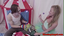 Glamcore petite teen gets assfucked deeply