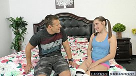 Hayden Asks To Have Her Tiny Teen Pussy Filled With Cum