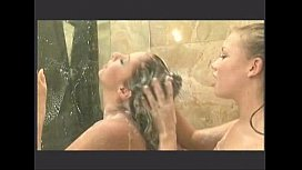 Lesbian shower Gianna and...