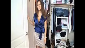 HotWifeRio Tanned Mom Catches Son In Her Panty Drawer