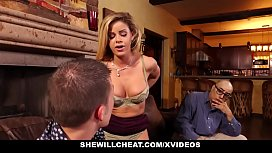 SheWillCheat - Cuckold Husband Watches...