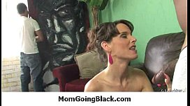 Mommy rides black dong 23