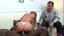 Gorgeous MILF cuckolds her lover with BBC