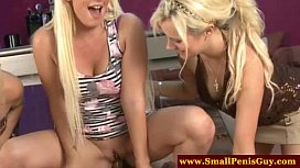 Femdom group makes small...