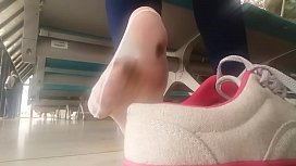 Removing Shoes in Public...