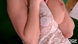Big Titty Nympho Katerina Hartlova finger banging masterpiece