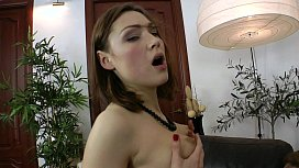 Hot Russian Macy Anal gets her Asshole stuffed deep with a smile.