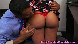 Daddys girl blowing coworkers...