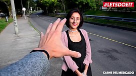 LETSDOEIT - Petite Colombian Teen Picked Up On The Side of The Street