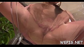 Girl and her lover sometimes urinate during their sex play