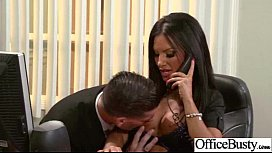 Sex Tape In Office With Busty Gorgeous Girl (elicia solis) clip-08