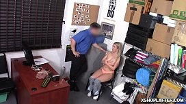 Dixie Lynn getting a hot sexuall punishment for stealing