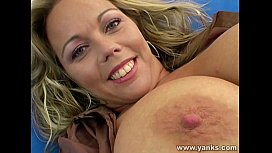 Hot milf plays with...